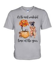 The Most Wonderful Time - Boerboel V-Neck T-Shirt thumbnail