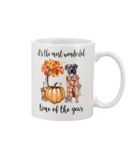The Most Wonderful Time - Boerboel Mug thumbnail