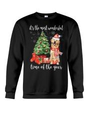The Most Wonderful Xmas - Golden Retriever Crewneck Sweatshirt thumbnail
