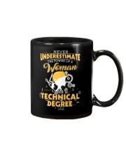 Technical woman Mug thumbnail