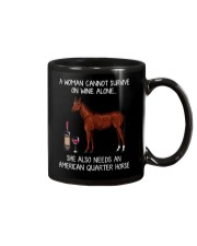 Wine and American Quarter Horse Mug thumbnail