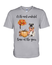 The Most Wonderful Time - Anatolian Shepherd V-Neck T-Shirt thumbnail