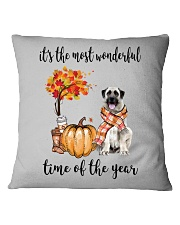 The Most Wonderful Time - Anatolian Shepherd Square Pillowcase thumbnail