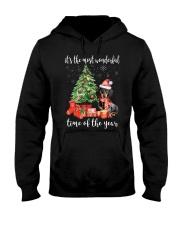The Most Wonderful Xmas - Dachshund Hooded Sweatshirt thumbnail