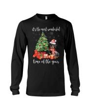 The Most Wonderful Xmas - Dachshund Long Sleeve Tee thumbnail