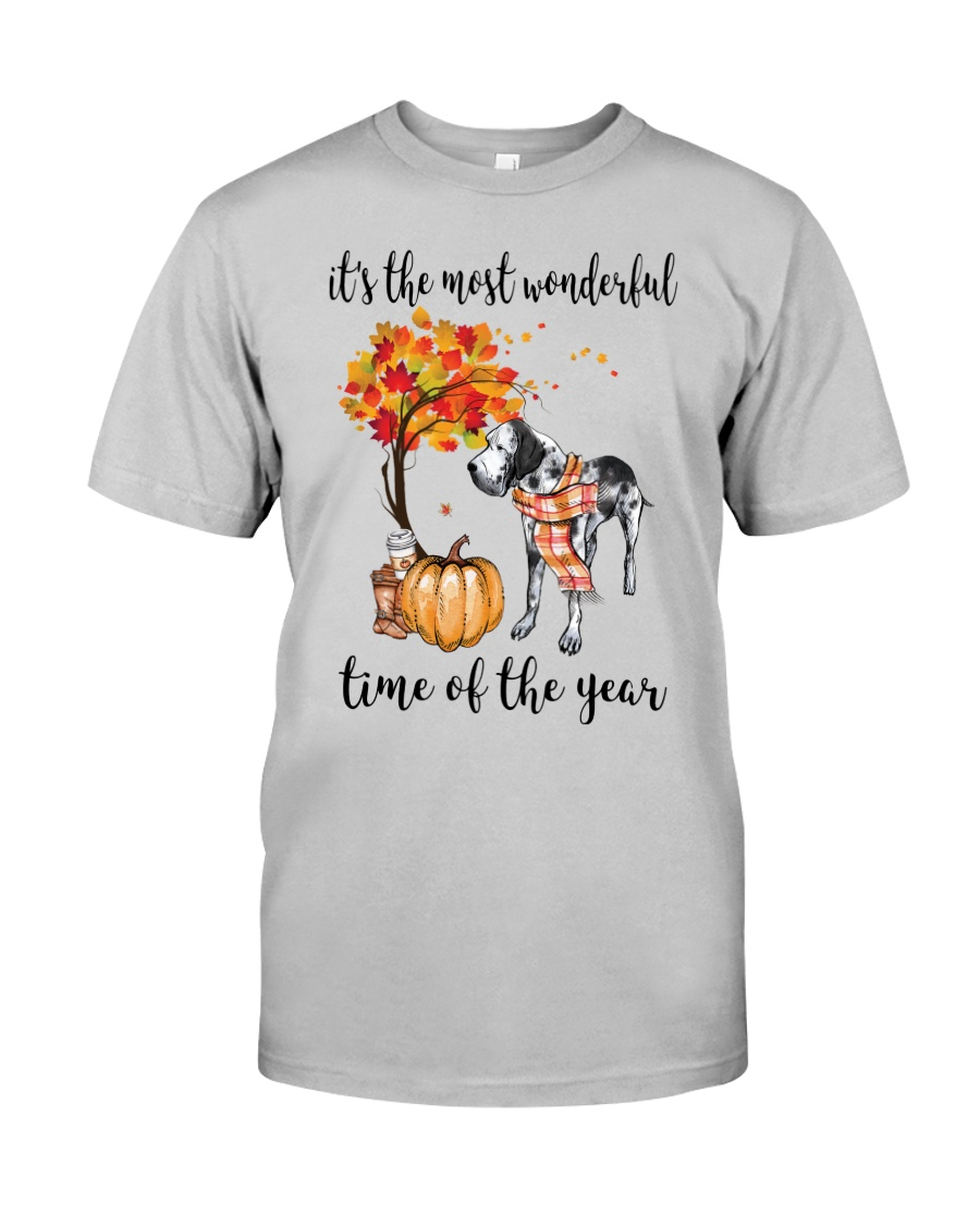 The Most Wonderful Time - Great Dane Classic T-Shirt