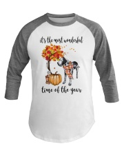 The Most Wonderful Time - Great Dane Baseball Tee thumbnail
