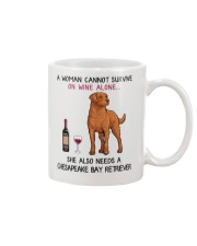 Wine and Chesapeake Bay Retriever 2 Mug thumbnail