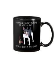 Wine and Rat Terrier Mug thumbnail