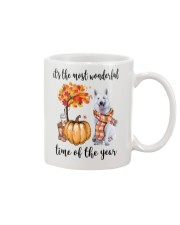 The Most Wonderful Time - White German Shepherd Mug thumbnail