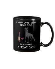 Wine and Great Dane 3 Mug thumbnail