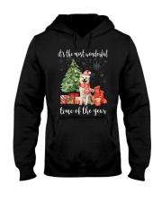 The Most Wonderful Xmas - Akita Hooded Sweatshirt thumbnail