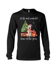 The Most Wonderful Xmas - Akita Long Sleeve Tee thumbnail