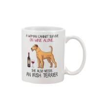 Wine and Irish Terrier 2 Mug thumbnail