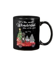 Wonderful Christmas with Truck - Great Dane Mug thumbnail