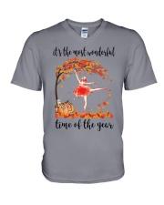 The Most Wonderful Time - Ballet Dancer V-Neck T-Shirt thumbnail