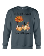The Most Wonderful Time - Chicken Crewneck Sweatshirt thumbnail