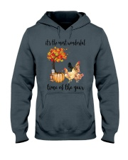 The Most Wonderful Time - Chicken Hooded Sweatshirt thumbnail