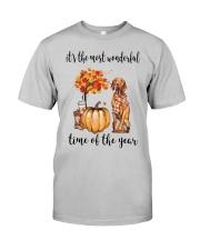 The Most Wonderful Time - Vizsla Classic T-Shirt front