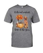 The Most Wonderful Time - Vizsla Classic T-Shirt tile