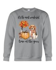 The Most Wonderful Time - Beagle Crewneck Sweatshirt thumbnail