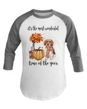 The Most Wonderful Time - Beagle Baseball Tee thumbnail