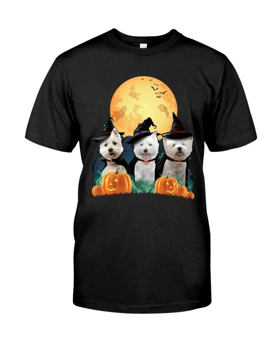 Howloween Westie Classic T-Shirt