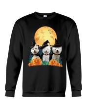Howloween Westie Crewneck Sweatshirt thumbnail