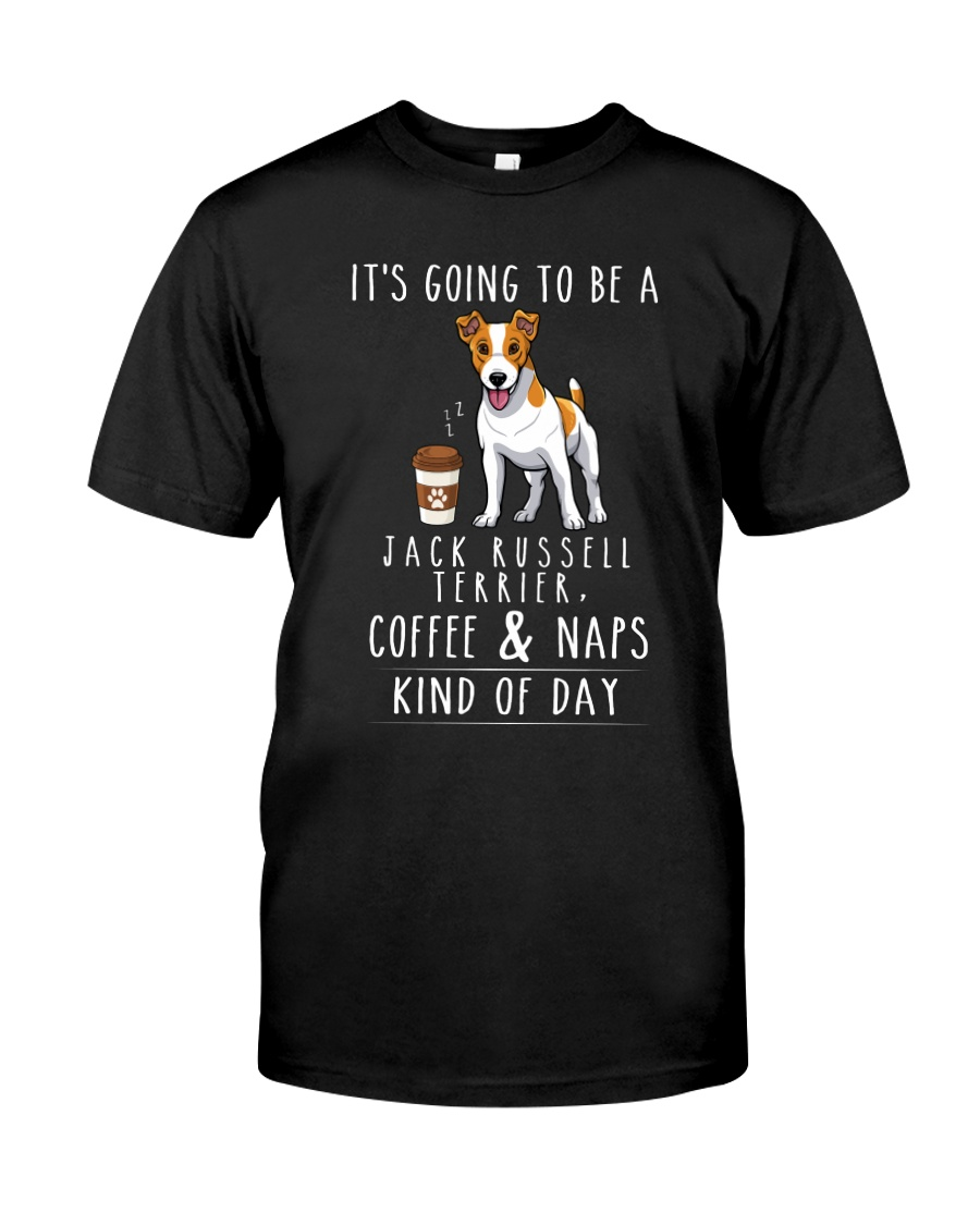 Jack Russell Terrier Coffee and Naps Classic T-Shirt