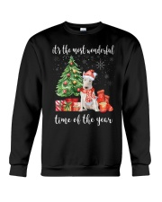 The Most Wonderful Xmas - Bull Terrier Crewneck Sweatshirt thumbnail