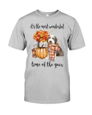 The Most Wonderful Time - Bearded Collie Classic T-Shirt front