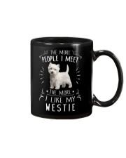 The More I Like My Westie Mug thumbnail