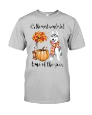 The Most Wonderful Time - Husky Classic T-Shirt front