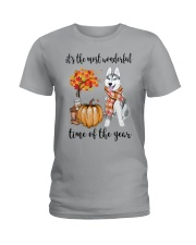 The Most Wonderful Time - Husky Ladies T-Shirt thumbnail