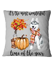 The Most Wonderful Time - Husky Square Pillowcase tile