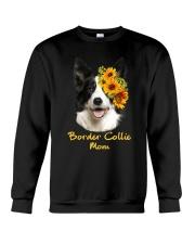 Border Collie Mom Crewneck Sweatshirt thumbnail