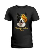 Border Collie Mom Ladies T-Shirt thumbnail