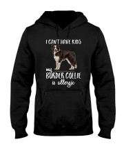 My Border Collie is Allergic Hooded Sweatshirt thumbnail