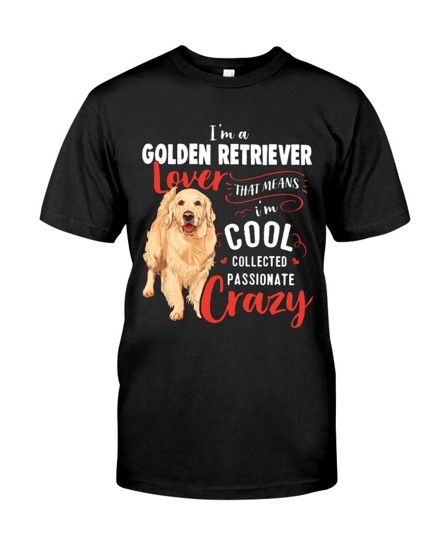 I'm a Golden Retriever Lover Classic T-Shirt