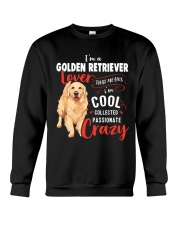 I'm a Golden Retriever Lover Crewneck Sweatshirt thumbnail