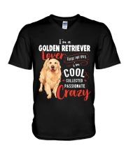 I'm a Golden Retriever Lover V-Neck T-Shirt thumbnail