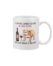 Wine and Bulldog 2 Mug thumbnail