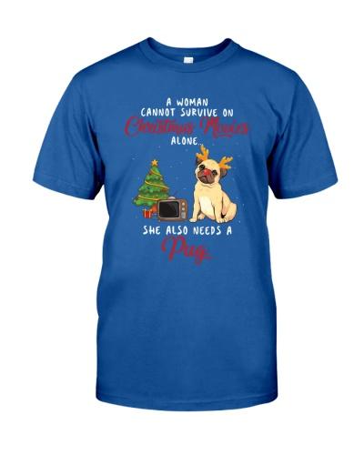 Christmas Movies and Pug
