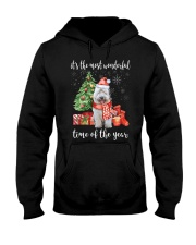 The Most Wonderful Xmas - Old English Sheepdog Hooded Sweatshirt thumbnail