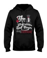 Staffordshire Bull Terrier - Therapy is expensive Hooded Sweatshirt thumbnail