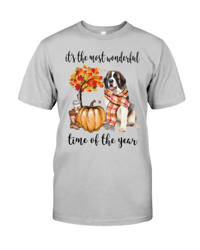 The Most Wonderful Time - Saint Bernard