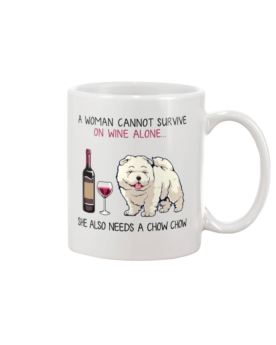 Wine and Chow Chow 2 Mug