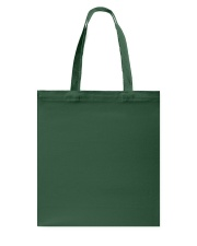 Christmas Wine and Bull Terrier Tote Bag back
