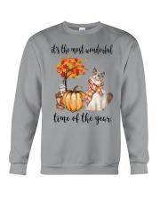The Most Wonderful Time - Ragdoll Cat Crewneck Sweatshirt thumbnail