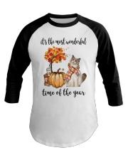The Most Wonderful Time - Ragdoll Cat Baseball Tee thumbnail